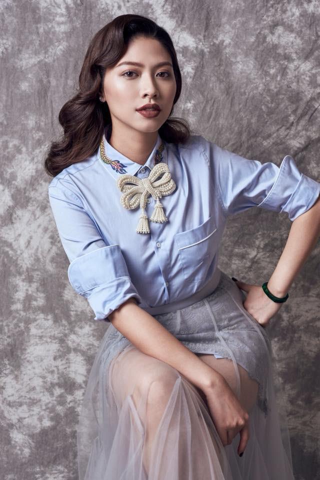 BTV Ngọc Trinh mặc sành điệu, sắm hàng hiệu không thua kém sao Việt