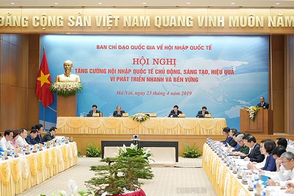 Thủ tướng,Nguyễn Xuân Phúc,hội nhập quốc tế