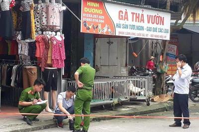 Chủ ki-ốt gà và con rể nghi đánh chết trộm gà ở Thái Bình