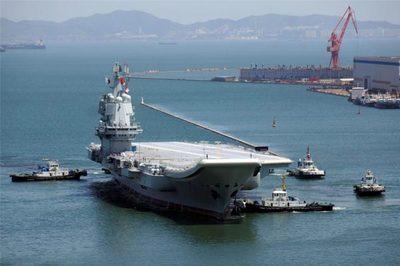 TQ hé lộ hình ảnh tàu sân bay tự chế mới