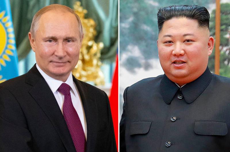 Nga,Triều Tiên,cuộc gặp Putin – Kim,thượng đỉnh Nga – Triều,Vladimir Putin,Kim Jong Un
