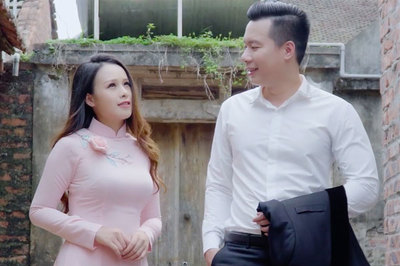 Sao mai Xuân Hảo tình tứ với MC Thu Hằng không sợ vợ ghen