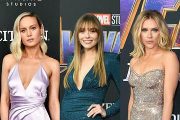 Mỹ nhân 'Avengers: Hồi kết' chuộng thời trang khoe vòng 1 ở buổi công chiếu