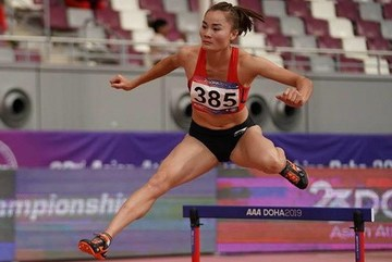 Vietnamese runner secures gold medal in Asian athletics championships