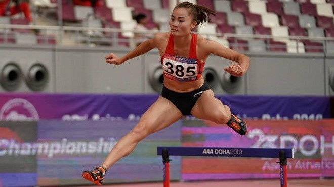 Vietnamese runner secures gold medal in Asian athletics championships