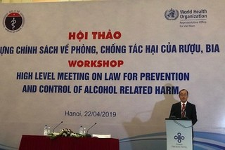 Average Vietnamese consumes over 6 litres of alcoholic drinks per year: seminar