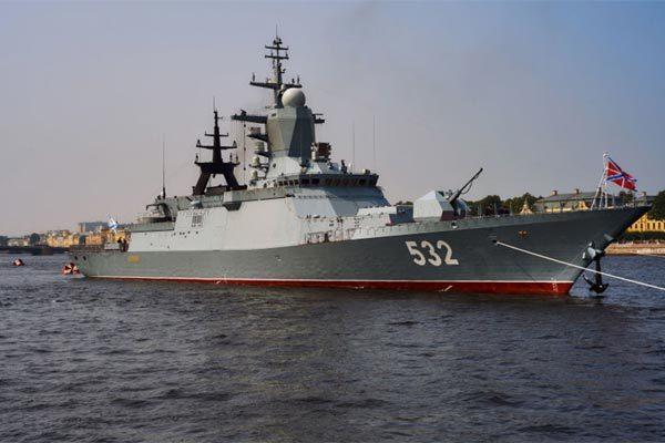 Dàn tàu chiến hùng hậu của Hạm đội Thái Bình Dương Nga