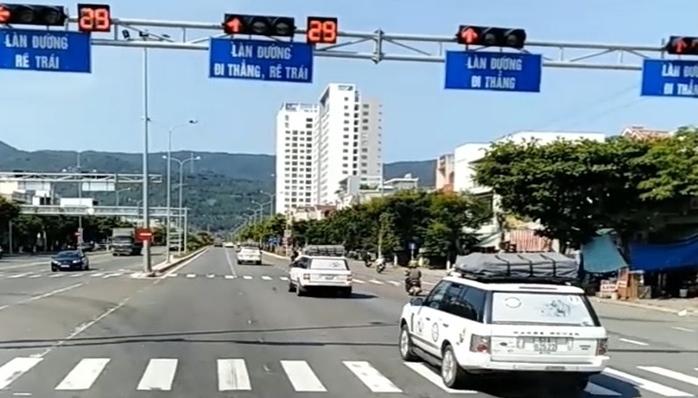 Đoàn xe Trung Nguyên vượt đèn đỏ ở Đà Nẵng vẫn chưa đến nộp phạt