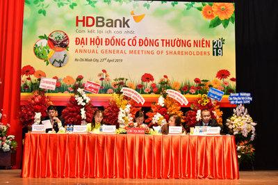 HDBank chia cổ tức, cổ phiếu thưởng 30%