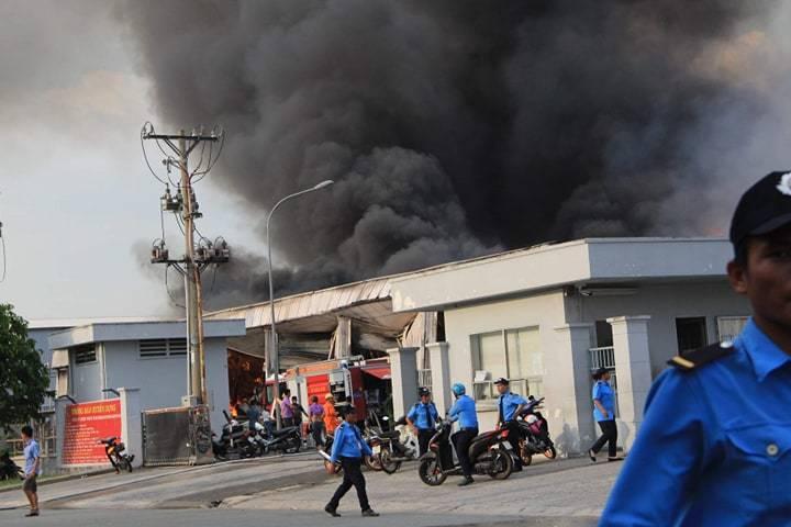 hỏa hoạn,cháy lớn,Bình Dương