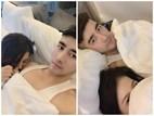 Sau nghi án bán dâm nghìn đô, Á hậu Thái Mỹ Linh khoe ảnh 'giường chiếu' với trai lạ