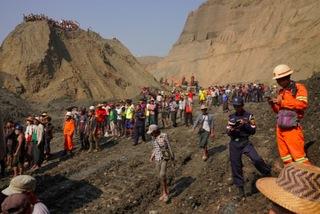 Thảm hoạ tại mỏ ngọc Myanmar, hơn 50 người chết