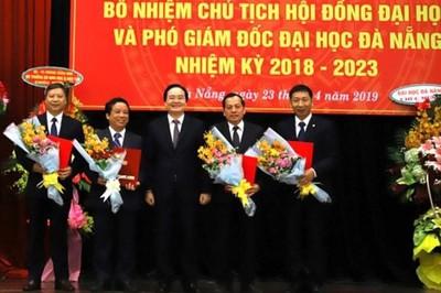 Bổ nhiệm Chủ tịch hội đồng trường của 2 đại học vùng