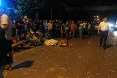 Khởi tố vụ án đâm xe liên hoàn tại đường Láng, nữ lao công tử vong