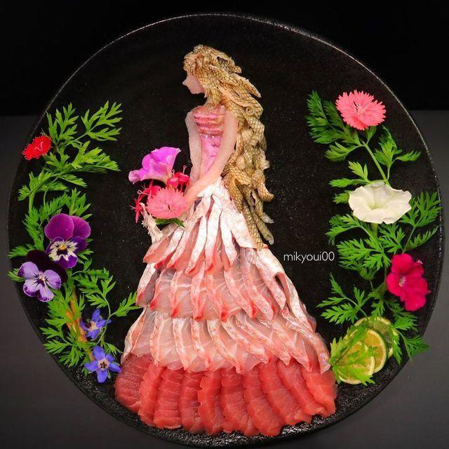 Những đĩa đồ ăn đẹp tới khó tin khiến chẳng ai nỡ thưởng thức (+video) Nhung-dia-do-an-dep-toi-kho-tin-khien-chang-ai-no-thuong-thuc-12