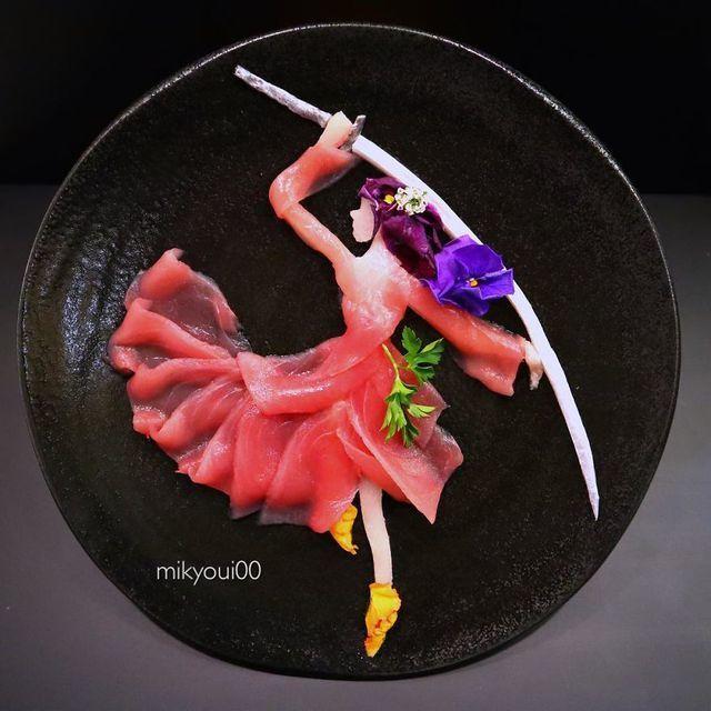 Những đĩa đồ ăn đẹp tới khó tin khiến chẳng ai nỡ thưởng thức (+video) Nhung-dia-do-an-dep-toi-kho-tin-khien-chang-ai-no-thuong-thuc-13