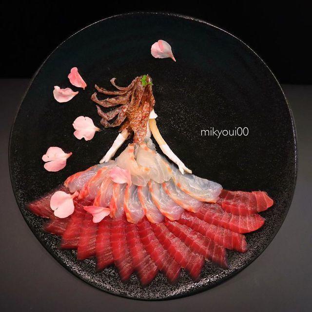 Những đĩa đồ ăn đẹp tới khó tin khiến chẳng ai nỡ thưởng thức (+video) Nhung-dia-do-an-dep-toi-kho-tin-khien-chang-ai-no-thuong-thuc-14