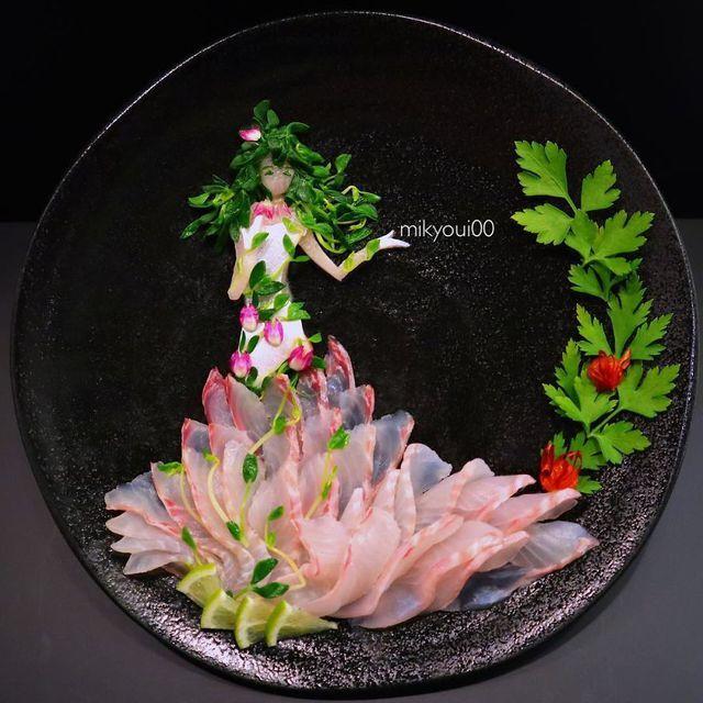 Những đĩa đồ ăn đẹp tới khó tin khiến chẳng ai nỡ thưởng thức (+video) Nhung-dia-do-an-dep-toi-kho-tin-khien-chang-ai-no-thuong-thuc-2