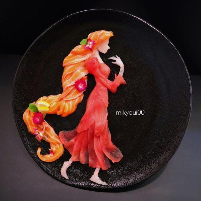 Những đĩa đồ ăn đẹp tới khó tin khiến chẳng ai nỡ thưởng thức (+video) Nhung-dia-do-an-dep-toi-kho-tin-khien-chang-ai-no-thuong-thuc-4