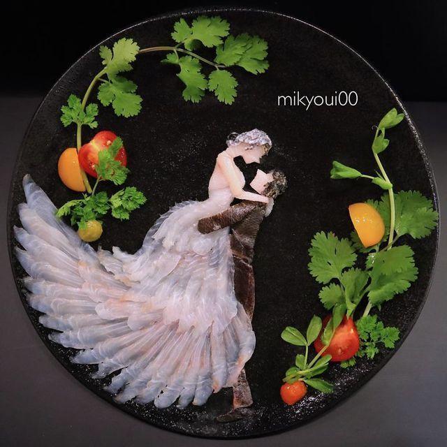Những đĩa đồ ăn đẹp tới khó tin khiến chẳng ai nỡ thưởng thức (+video) Nhung-dia-do-an-dep-toi-kho-tin-khien-chang-ai-no-thuong-thuc-5