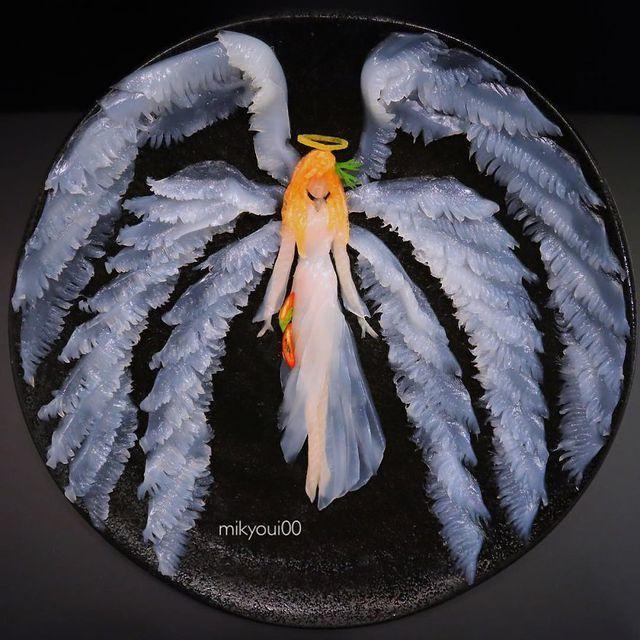 Những đĩa đồ ăn đẹp tới khó tin khiến chẳng ai nỡ thưởng thức (+video) Nhung-dia-do-an-dep-toi-kho-tin-khien-chang-ai-no-thuong-thuc-9