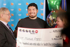 Chàng trai 24 tuổi trúng số độc đắc 768 triệu đô la