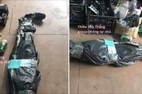Gói hàng gửi cho khách nhưng bên giao hàng không dám nhận còn doạ báo công an, nhìn hình ảnh ai cũng hiểu lý do