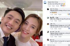 Khen 'vợ yêu xinh quá', Cường Đô La nhận câu trả lời phũ từ Đàm Thu Trang