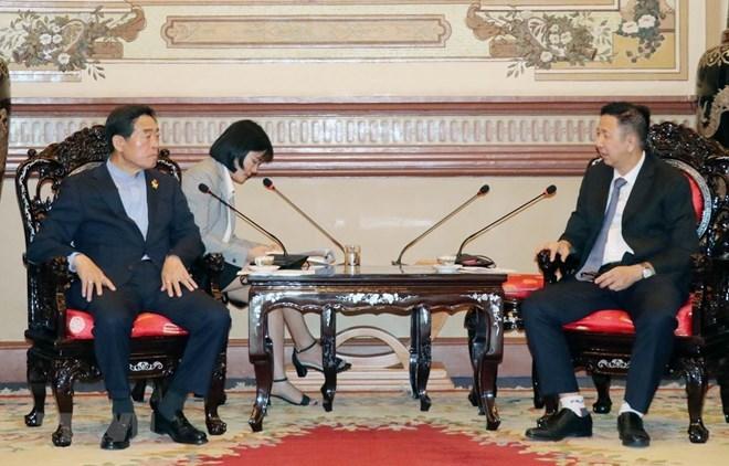 HCM City, RoK's Ansan city promote cooperation