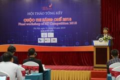 10 giải pháp công nghệ lọt chung khảo cuộc thi Sáng chế 2018