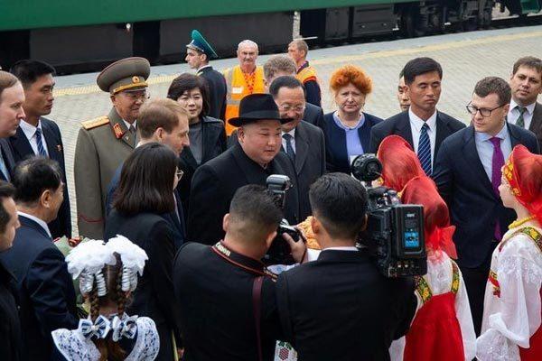 Kim Jong Un nói gì khi vừa tới Nga?