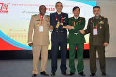 Việt Nam tổ chức Phiên họp Đại Hội đồng thể thao quân sự quốc tế