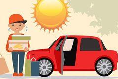 Cần lưu ý gì khi sử dụng điều hòa ô tô trong mùa hè?