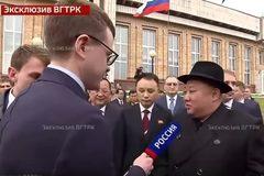 Xem Chủ tịch Triều Tiên lần đầu trả lời phỏng vấn truyền hình Nga