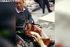 Lật mặt kẻ giả mạo người khuyết tật để xin tiền