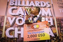 VN player wins tenth Asian Carom Champ