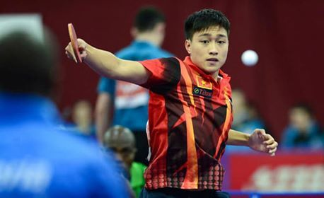Nguyen Anh Tu represents Vietnam at world table tennis champs