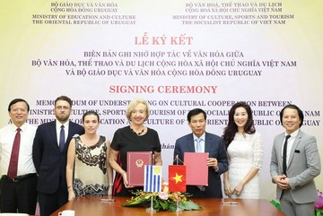Uruguay, Vietnam to boost co-operation in culture and education