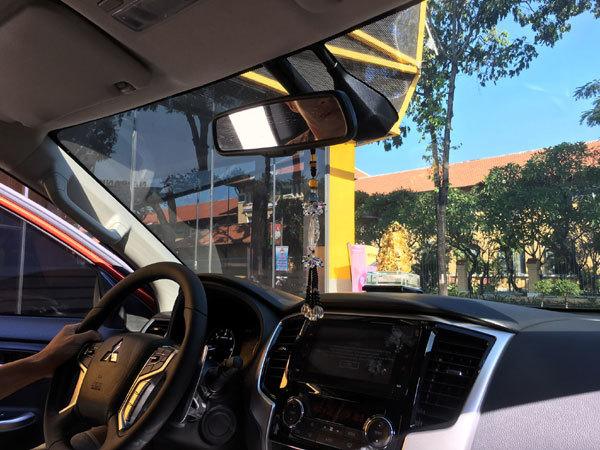 Phim cách nhiệt 'giải cứu' cánh tài xế khi hè đến