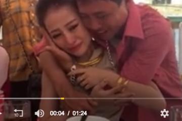 Xúc động hình ảnh ông bố Nghệ An khóc nức nở tiễn con gái đi lấy chồng