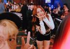 Rich kid Việt theo chân, selfie với từng thành viên Black Pink tại Mỹ
