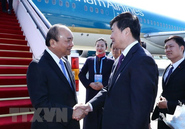 Vietnamese PM arrives in Beijing for second Belt and Road Forum