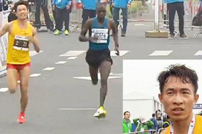 Nhà vô địch marathon tiết lộ lý do không ngờ khi cố chạy về đích