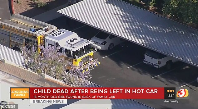 Nắng nóng, bé gái 18 tháng tử vong trong khoang cabin ô tô