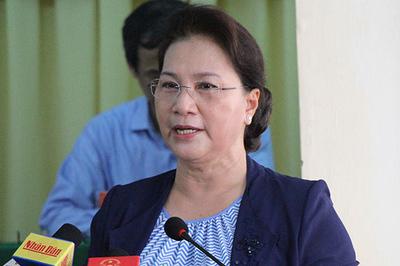 Chủ tịch QH trả lời cử tri về sức khỏe Tổng bí thư, Chủ tịch nước