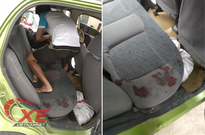 Chở người bị thương đầy máu, thầy giáo tốn 2 triệu sửa ghế ô tô