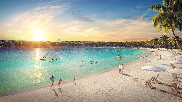Vinhomes Ocean Park đưa biển xanh về Hà Nội