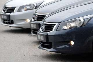 Honda tiến hành thu hồi hàng nghìn mẫu Accord để thay thế túi khí