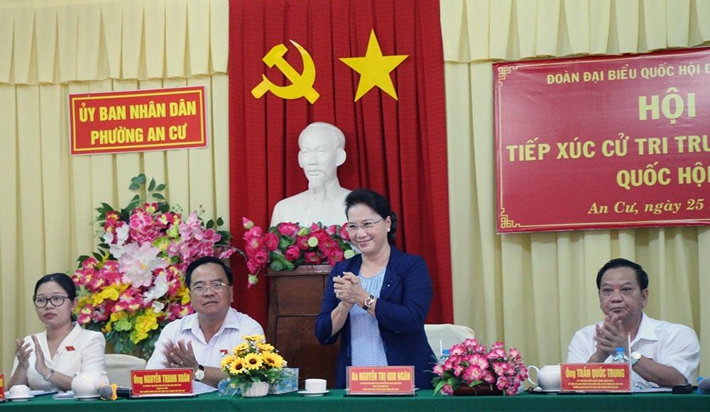 Chủ tịch QH: Thông tin giàn khoan Trung Quốc ở vịnh Bắc Bộ là không đúng