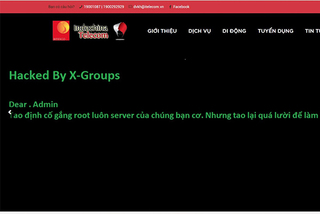 Mạng di động ảo ITelecom bị hack website ngay ngày đầu ra mắt